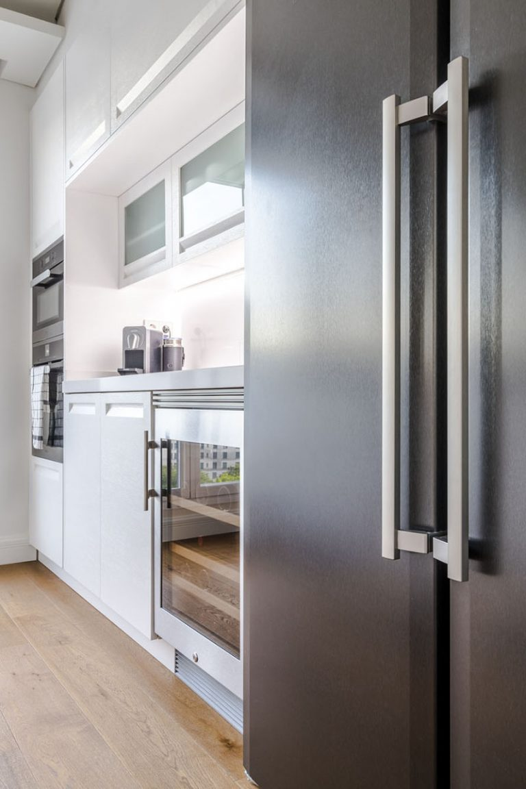 cocina clasica frigo americano