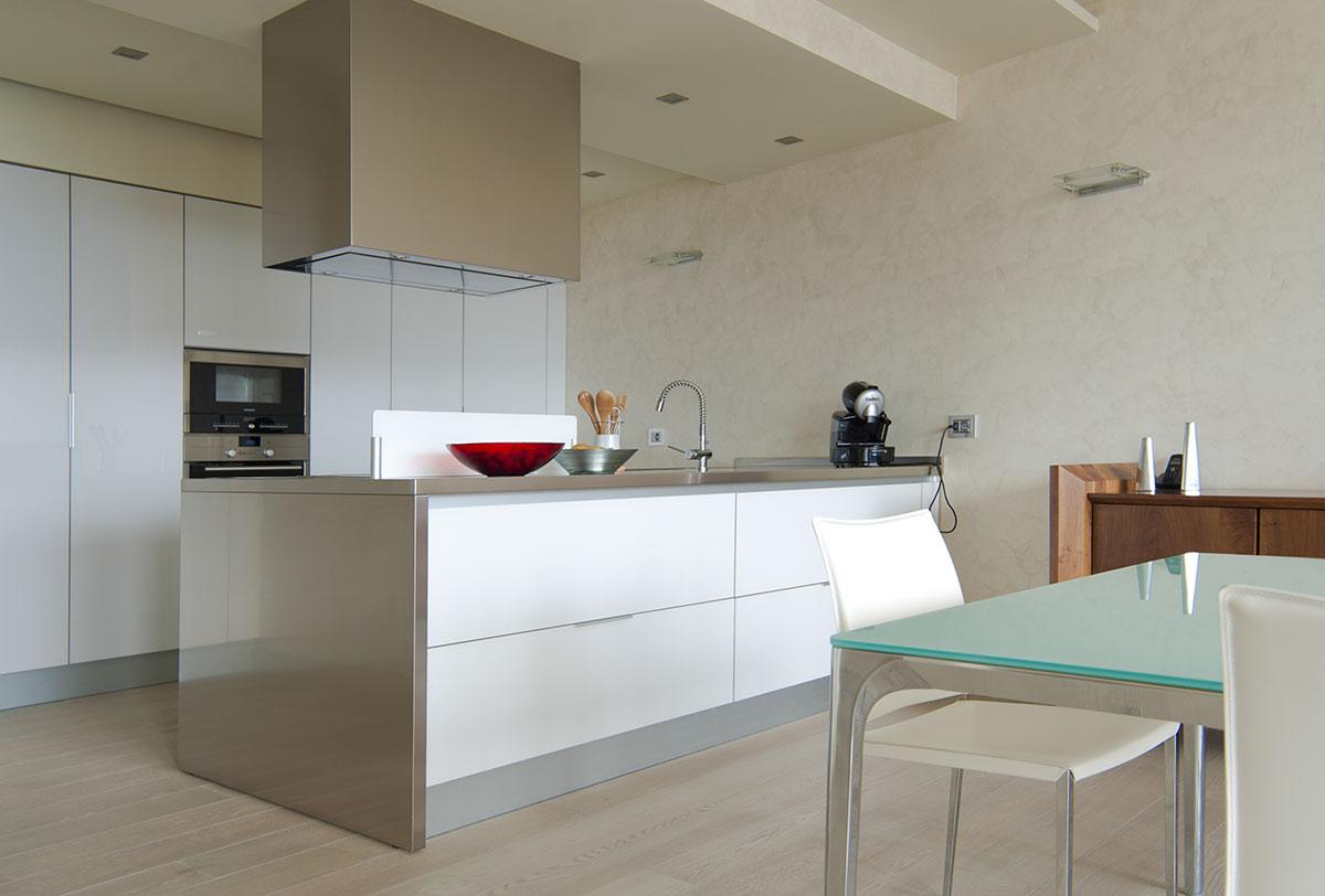 Cocinas modernas de dise o italiano a medida y nicas murelli cucine - Relojes para cocinas modernas ...