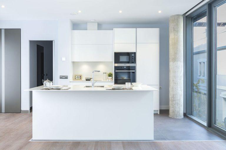 cocina moderna en loft