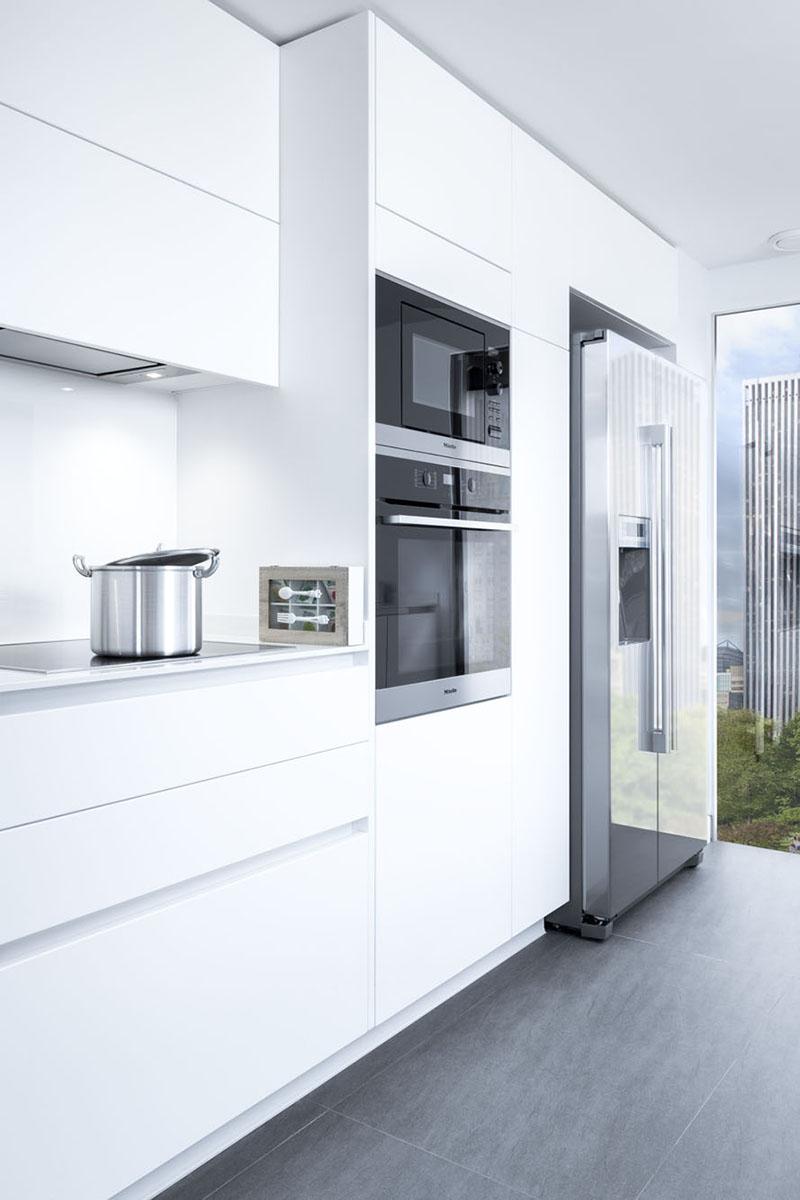Cocinas modernas de dise o italiano a medida y nicas for Cocinas completas con electrodomesticos