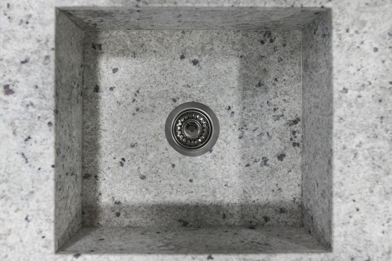 fregadero integrado granito