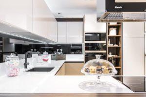 cocina moderna lacada