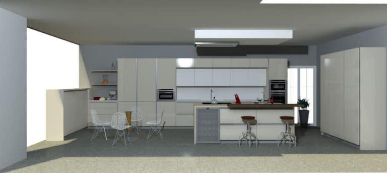 Diseño de cocinas en 3D | Murelli Cucine